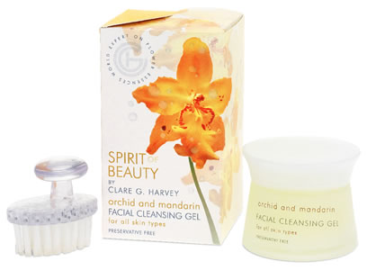 Orchid & Mandarin Facial Cleansing Gel